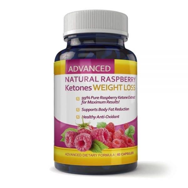 Ketones weight loss Natural Raspberry Capsule