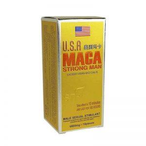 Maca USA Strong Man Power Pills